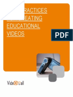 Best Practices for Language Education Videos