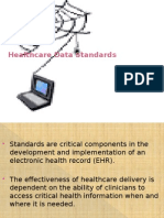 Healthcare Data Standards