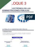 Firmae Bloque 3 Firma Electrónica Adm.pública