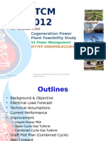Co-generation Power Plant Study for DSA TCM#2-2012_PK