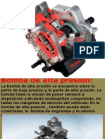 Bomba de Alta Presión Common Rail(riel comun) automotriz