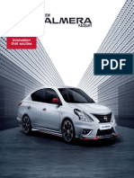 New Almera Facelift-brochure