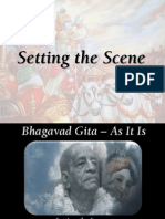 Bhagavad Gita As It Is - Setting the Scene