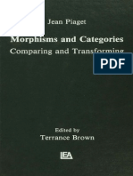 Morphisms and Categories - Jean Piaget