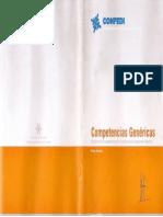 Confedi - Competencias Genéricas 2007