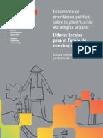 Orientaciones Politicas y Planificacion Estrategica de Ciudades