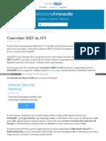 Aranzulla Tecnologia Virgilio It Convertire Mkv Avi 54637 Ht