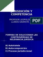 Jurisdición y Competencia