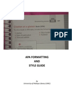 APA Guide IN ACTION RESEARCH