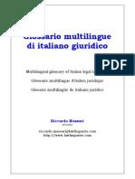 Dizionario multilingue Massari