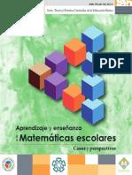 Aprendizaje y Enseñanza de Las Matemáticas Escolares