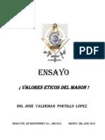 Valores Eticos Del Mason 10