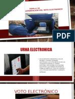 Tema # 10 Ventaja de La Implementacion Del Voto Eectronico
