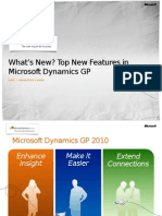 Dynamics GP 2010 What's New