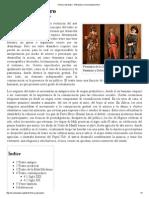 Historia Del Teatro - Wikipedia, La Enciclopedia Libre