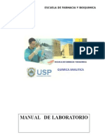 Manual Laboratorio Quimica Analitica