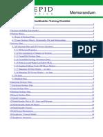 GeoModeller_CaseStudyH_TrainingCheckList