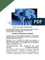 14.-El Flujo de Datos Transfrontera