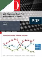 CIO Magazine IT Economic Outlook