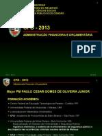 Aulas CFO 2013 - Full