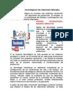 18.- El Impacto de La Tecnologia en Las Relaciones Laborales