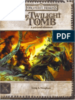 D&D 3.5e - Forgotten Realms - Adventure - The Twilight Tomb