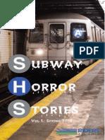 Subway Horror Stories - Riders Alliance