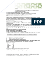 Lista 1 Exercicios propostos Estatitica Básica.doc