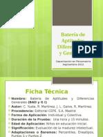 Batería de Aptitudes Diferenciales y Generales IFB