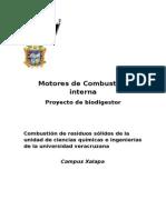 Proyecto de Biodigestor