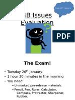 Exam 26th January