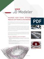IBwave 3D Modeler Product Sheet