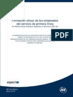 Formacin Eficaz de Empleados de Primera Lneapdf