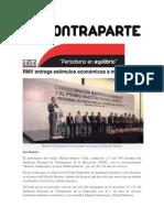 15-05-2015 Contraparte - RMV Entrega Estímulos Económicos a Maestros