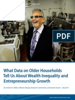 What Data on Older Households Tell Us About Wealth Inequality and Entrepreneurship Growth