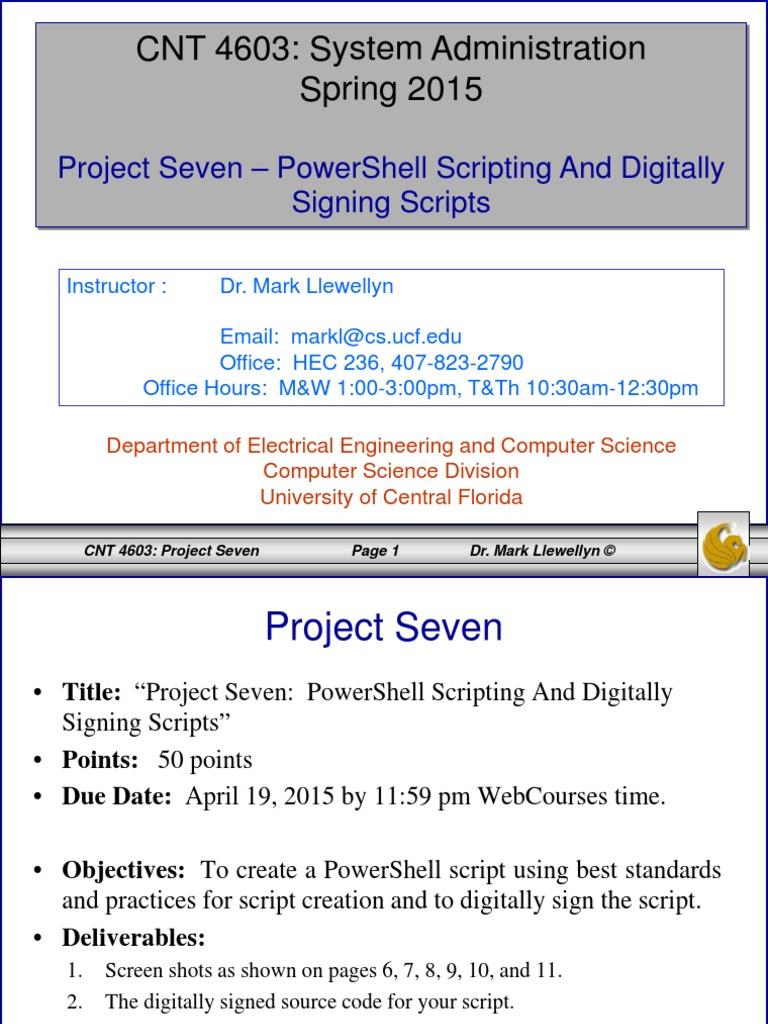 Project Seven | Public Key Certificate | Information Technology