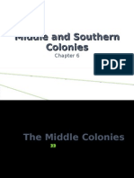 Ch. 6 Middle and Southern Colonies