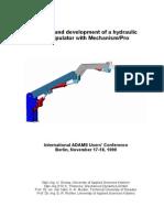 Design and Development of a Hydraulic Manipulator.