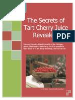 Secrets of Tart Cherry Juice Revealed