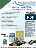 Afiche Capacitacion GIS 2010