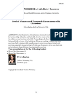 Jewish Women and Economic Encounters With Christians