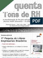 Palestra Cinquenta Tons de RH - Congresso ABRH Bahia em Setembro de 2013