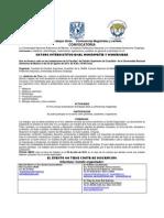 XII FORO INTERINSTITUCIONAL HOMEOPATÍA Y MODERNIDAD
