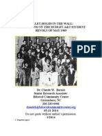 Bullet Holes in the Wall-The Dudley-A&T Student Revolt of May 1969- 8-21-14
