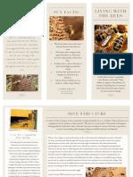 honey bee brochure