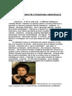 Condiția Femeii În Literatura Universală