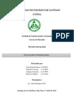 Indice y Presentacion Mercadeo Internacional
