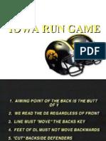 Iowa Run Game