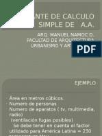 Variante de Calculo Simple de Aa 2