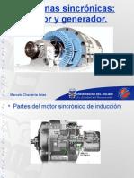 Generador y Motor Sincronico